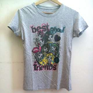 Grey Monster High Tshirt #MidYearSale