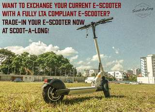 Trade-In for E-Scooter