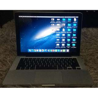 MACBOOK PRO 13.3 INCHES i5 late 2012