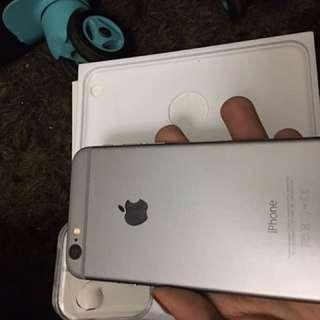 Tiptop Fullset 6 128gb Original Apple Iphone