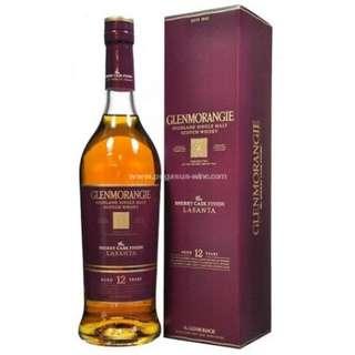 Glenmorangie 12 Years Single Malt Scotch Whisky Lasanta 格蘭傑12年單一純麥威士忌 Lasanta