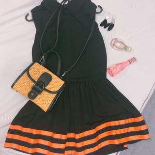 Spring black dress NEW