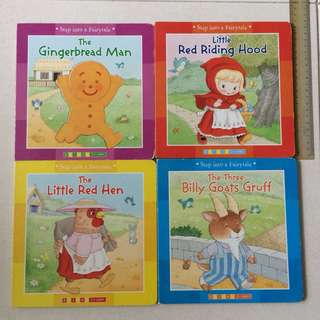 Preloved 4 Fairy Tale Board Books
