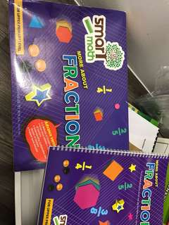 Smart Math play n Learn about fraction