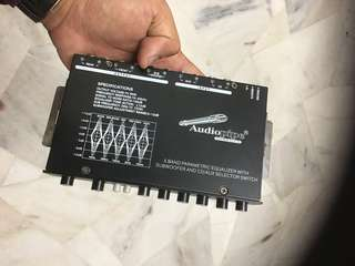 Audiopipe 5 band equalizer