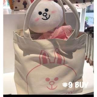巜日本Line Friends Store 限定 》 ✨原宿限定款✨ 手挽袋