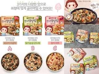 韓國🇰🇷Ivenet 貝貝 40秒速食營養飯