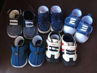 Preloved Baby Shoes (3-6months) TAKE ALL