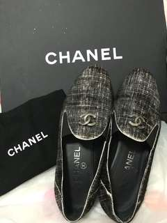 Chanel Shoes 馬毛loafers size 36