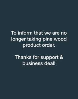 Customize Pine Wood