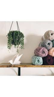 Crochet/knitting classes available!