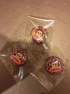 Paul Frank Badges