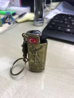 Lighter from turkey, just nice with cover.