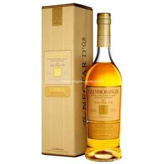 Glenmorangie 12 Years Single Malt Scotch Whisky Nectar Dor 格蘭傑12年單一純麥威士忌 Nectar Dor