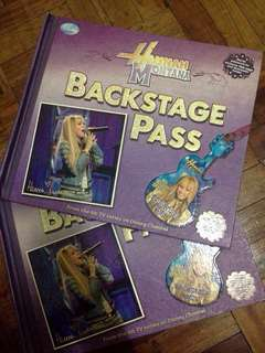 HM Backstage Pass- INTERACTIVE!