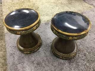 Antique porcelain garden stools