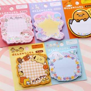 Sanrio Original Characters Post It Notes