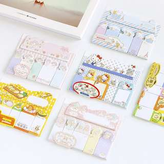 Sanrio Original Sticky Memo / Post It Notes / Stick Post-it Pad / Stick Marker