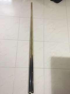 snooker 1 piece cue sticks