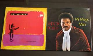 WAS NOT WAS ● WILSON PICKETT anything can happen../ mr magic man. ( buy 1 get 1 free / moving out sale )   Vinyl record