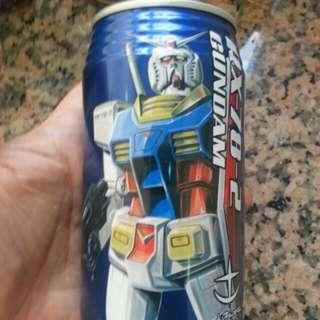 全新日版 Gundam 高達 百事 gundam front  pepsi 汽水 收藏品