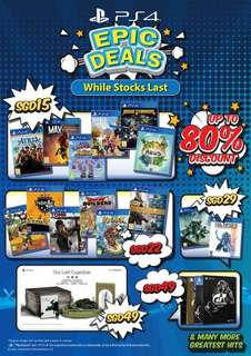 PS4 Games Offer from $15 [15th May - 30th May]
