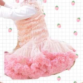Tutu dress/蓬蓬蛋糕裙/公主裙/baby dress/嬰兒紗裙/花女裙