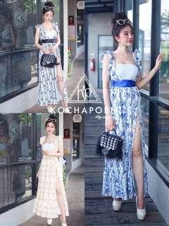 Maxi dress ; f@