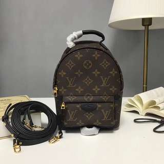 Lv Mini Backpack Spring Palm