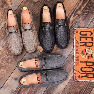 Men's British Style Slip On Loafers Shoes
