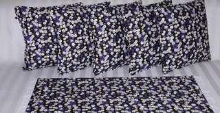 Sarung Bantal Kursi 1 Daisy Dream Purple