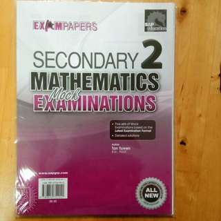 Secondary 2 Math Paper