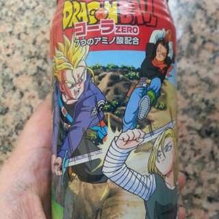 全新日版jump龍珠Dragon Ball Dydo 汽水 收藏品 杜拉格斯 17号 18号