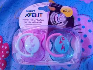 Philips Avent Freeflow Pacifier 0-6 mos