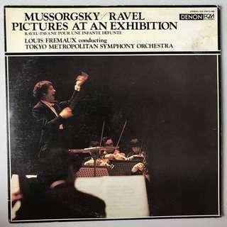 Mussorgsky Pictures & Ravel Pavane DENON 7072