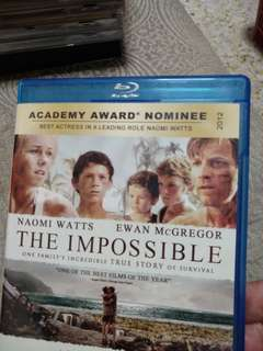 Blu Ray Movies, the impossible