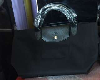 Authentuc Longchamp Black MEDIUM