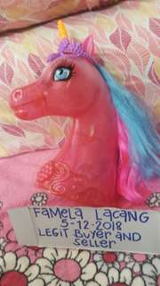 Barbie pony