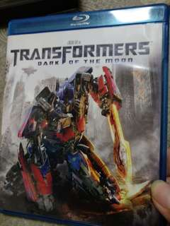 Blu ray, Transformers, Dark of the moon