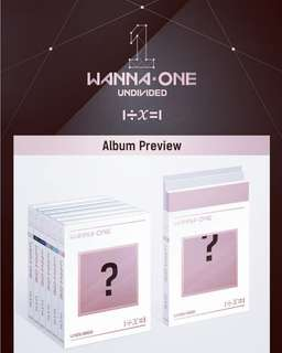 Wanna One 1÷x=1 Undivided G.O