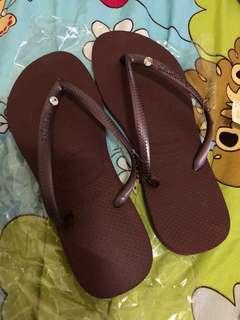 Havaianas 哈瓦仕 細帶 水鑽 拖鞋