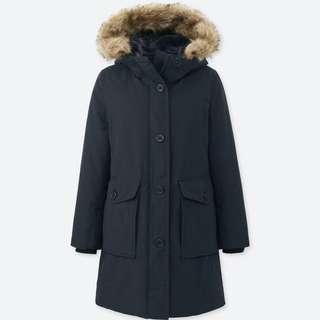 Uniqlo Ultra Warm Down Jacket Navy S