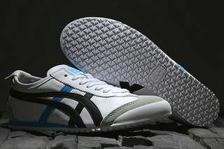 Authentic Onitsuka Tiger (Mexico 66) White/ Black/ Blue
