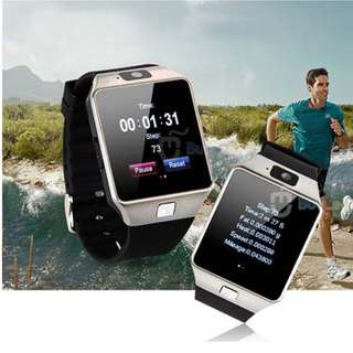 BLUETOOTH SMART WATCH CAN USE AS PHONE - CAN INSERT SIM AND MEMORY CARD