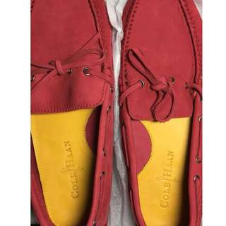 Cole Haan Red Shoes