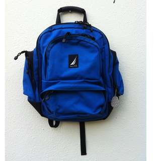 Genuine Nautica backpack, used only once. In excellent condition.