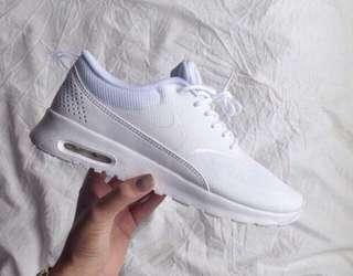 White Nike Thea