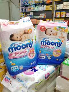 Pampers Moony Goon尿片&褲仔