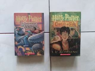 Harry Potter (Third and Fourth Books)