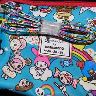 🌟BN Long strap from Be Set of Jujube Rainbow Dreams Tokidoki Hello Kitty Hello Sanrio Beset